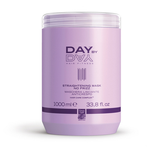 Выпрямляющая маска Day by Day Straightening Mask No Frizz Green Light