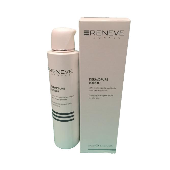 Очищающий лосьон для комбинированной жирной кожи Dermopure Lotion Renewe